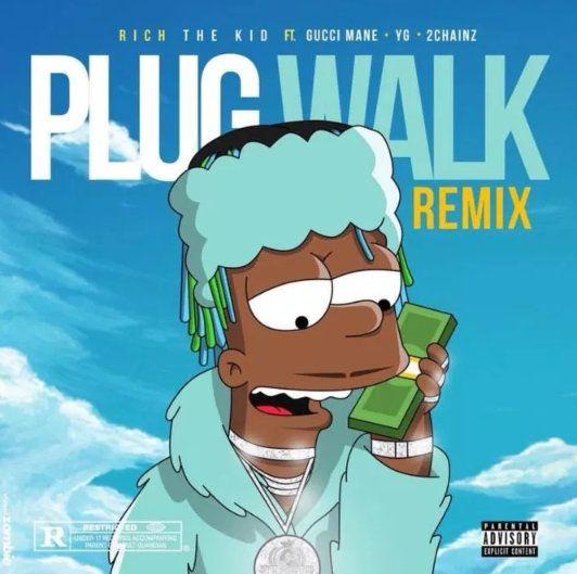 Plug Walk (Remix) Ft. Gucci Mane, YG & 2