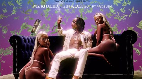 Wiz Khalifa Gin & Drugs