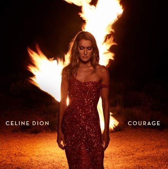 Celine Dion Lying Down