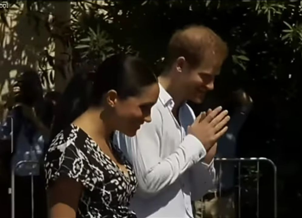 Harry and Meghan south african visit