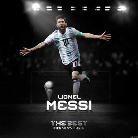 Lionel Messi Wins The 2019 FIFA Best Men's Player Of The Year