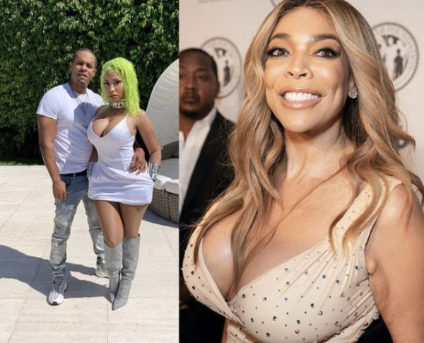 """So he's a killer & a sex offender"" - Wendy Williams shades Nicki Minaj and her husband Kenneth Petty (Video)"
