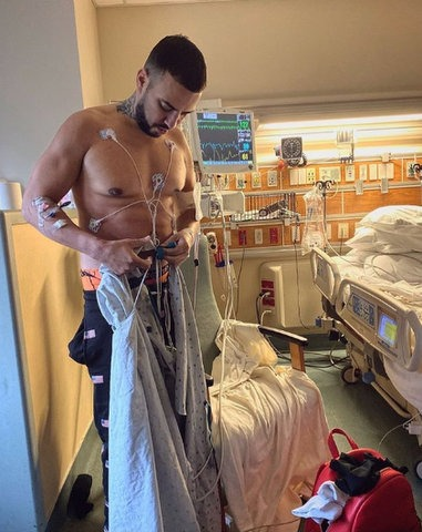 Rapper, French Montana Discharged From ICU and getting better (Photo)