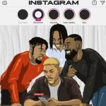 Reminisce ft. Olamide, Naira Marley & Sarz – Instagram
