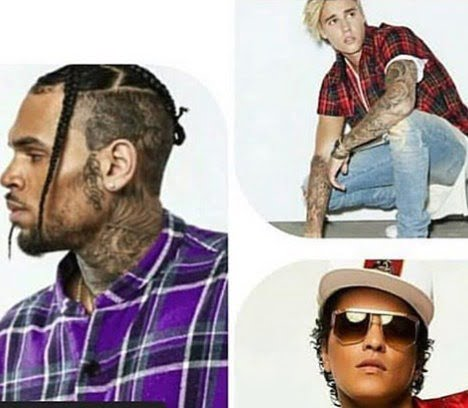 Chris Brown Top List Of Best-Selling Male Singers In US From 2000 - 2019, Followed Bruno Mars And Justin Bieber