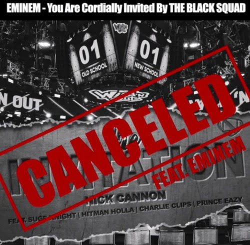 Nick Cannon Canceled: Invitation (Eminem Diss) mp3