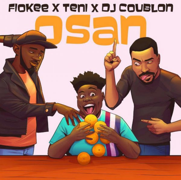 Fiokee ft. Teni & DJ Coublon Osan mp3