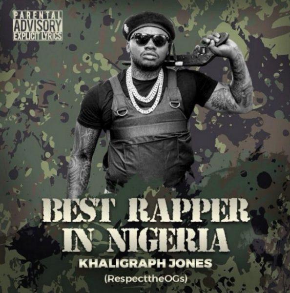 Khaligraph Jones Best Rapper In Nigeria (Blaqbonez Diss) mp3