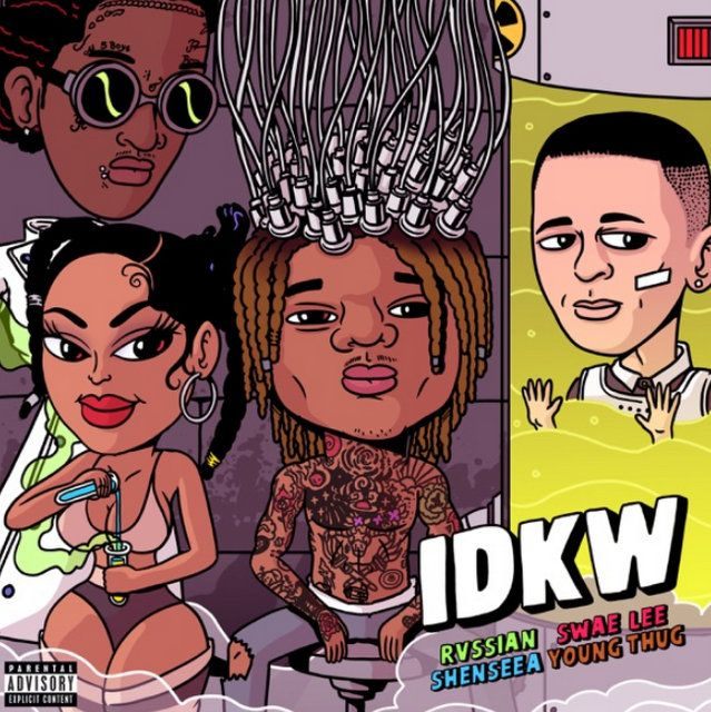 Rvssian, Shenseea & Swae Lee ft. Young Thug IDKW mp3