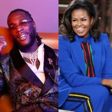 Michelle Obama Names Burna Boy's Song 'My Money, My Baby' As One Of The Songs On Her Workout Play List
