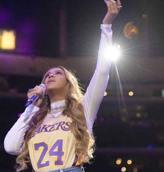 Beyonce And Jennifer Lopez Honor Kobe Bryant With Nail Art (Photos)