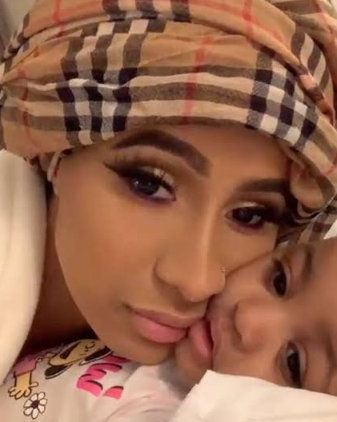 "Cardi B Slams Twitter User Who Said Her Daughter, Kulture isn't ""That Cute"""