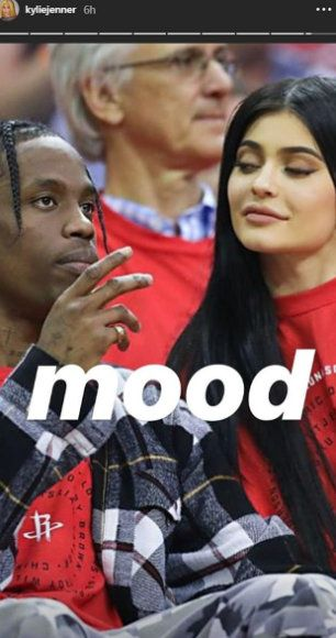 Kylie Jenner And Travis Scott Are Back Together As She Shares Series Of Throwback Snaps And Models His New Nike Trainers