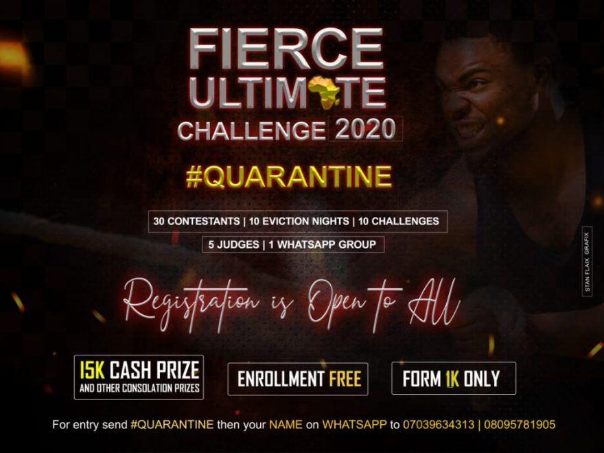 Fierce Ultimate Challenge 2020