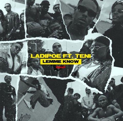 LadiPoe ft. Teni Lemme Know (Remix mp3