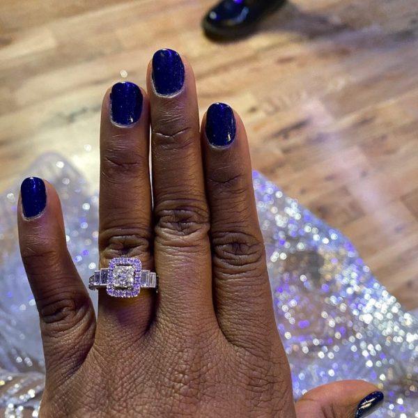 Power star, Naturi Naughton is engaged to a mystery man (photos)