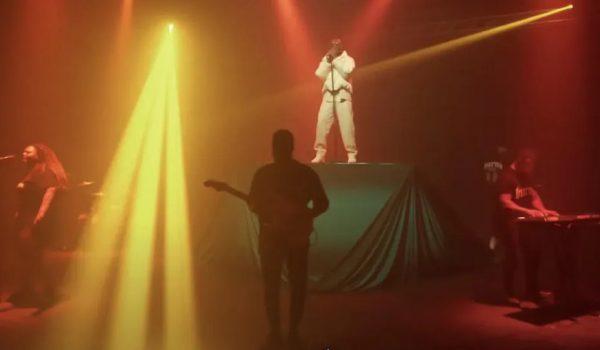 "Burna Boy Perform ""Way Too Big"" on Seth Meyer's Late Night"