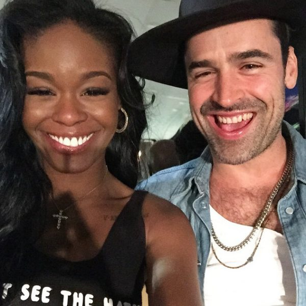 """ I said yes""; Azealia Banks' boyfriend, Ryder Ripps proposes to her with a Jewish ring (photo)"